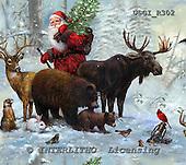 GIORDANO, GIFT WRAPS, GESCHENKPAPIER, PAPEL DE REGALO, Christmas Santa, Snowman, Weihnachtsmänner, Schneemänner, Papá Noel, muñecos de nieve, paintings+++++,USGIR302,#GP#,#X# napkins