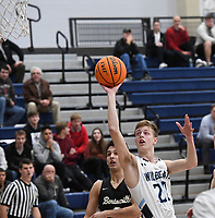 NWA Democrat-Gazette/J.T. WAMPLER Springdale Her-Ber's Lawson Jenkins takes a shot during the game against Bentonville Tuesday Jan. 7, 2020.