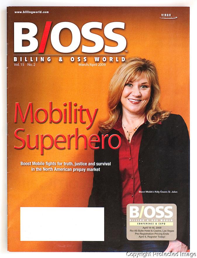 Boost Mobile for B'OSS Magazine