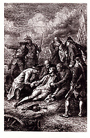 Wolfe death by Wix<br /> <br /> Major General James Peter Wolfe (3 January 1727 - 13 September 1759) was a British Army officer, known for his training reforms but remembered chiefly for his victory over the French at the Battle of Quebec in Canada in 1759.