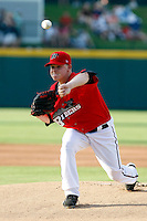 Kasey Kiker - Frisco RoughRiders.2009 Texas League All-Star game held at Dr. Pepper Ballpark, Frisco, TX - 07/01/2009. The game was won by the North Division, 2-1..Photo by:  Bill Mitchell/Four Seam Images