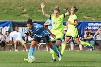 Piscataway, NJ - Sunday June 19, 2016: Racquel Rodriguez, Kim Little during a regular season National Women's Soccer League (NWSL) match between Sky Blue FC and Seattle Reign FC at Yurcak Field.