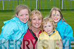 Erica, Christine,.Susan and Isabelle.Connor, Killarney,.enjoying the Killarney.Races on Monday.