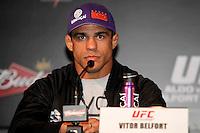 RIO DE ANEIRO,12 E JANEIRO DE 2012-  Coletiva  de  imprensa com com competidores do UFC-RIO.<br /> Local.: Hotel Copacabana  Palace - Capacabana -RJ<br /> Foto: Guto Maia