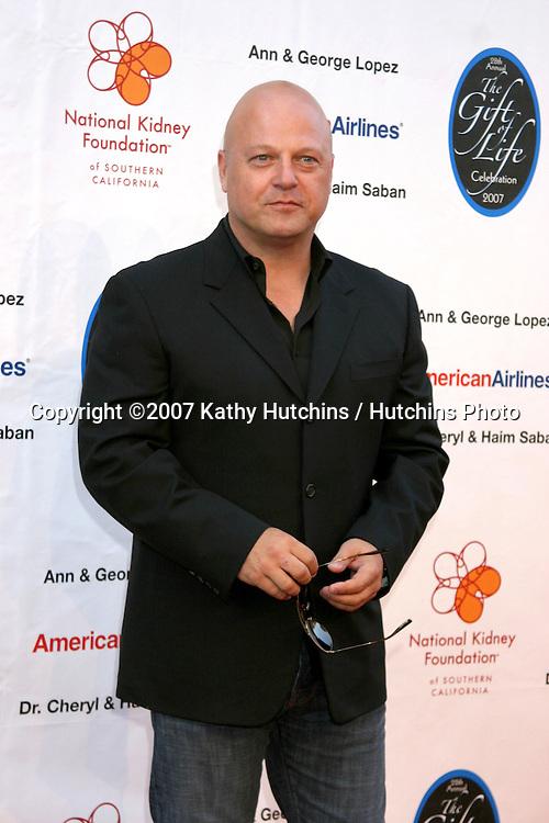 Michael Chiklis.The Gift of Life Celebration 2007.National Kidney Foundation Benefit.Warner Brothers Studio Lot.Burbank, California USA.April 29, 2007 .©2007 Kathy Hutchins / Hutchins Photo....