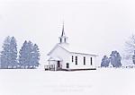 Snowstorm, Sullivan County, Pennsylvania