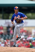 New York Mets pitcher Carlos Torres (52) during a Spring Training game against the St. Louis Cardinals on April 2, 2015 at Roger Dean Stadium in Jupiter, Florida.  The game ended in a 0-0 tie.  (Mike Janes/Four Seam Images)