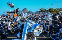 ATENCAO EDITOR: FOTO EMBARGADA PARA VEICULOS INTERNACIONAIS. - RIO DE JANEIRO, RJ,15 DE SETEMBRO 2012 - RIO HARLEY DAYS 2012- Harley Days 2012, sucesso na Espanha, Franca, Alemanha e Croacia, o evento desembarca para sua segunda edicao no Brasil, na Marina da Gloria, na Gloria, zona sul do Rio de Janeiro.(FOTO: MARCELO FONSECA / BRAZIL PHOTO PRESS).