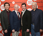 Max Gordon Moore, Reed Birney, William Ragsdale and Tom Bloom attend the Second Stage Theatre's Off-Broadway Opening Night After Party for 'Man From Nebraska'  at Dos Caminos on 2/15/2017 in New York City.