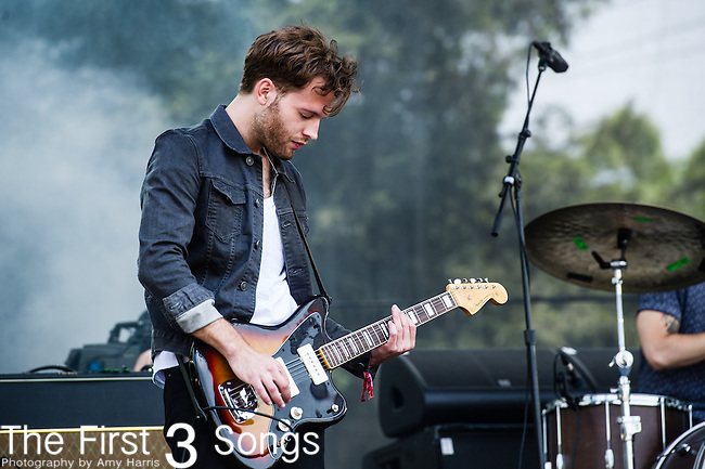 Tom Conrad of Empires performs at the 2nd Annual BottleRock Napa Festival at Napa Valley Expo in Napa, California.