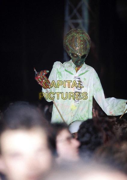 RADIOHEAD  ..Glastonbury Festival..Ref: 5072..live, concert, stage, gig, crowd, alien..www.capitalpictures.com..sales@capitalpictures.com..©Capital Pictures