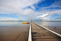 Pier on Suriname River Leonsberg