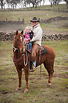 Calf marking at the Joses Ranch,Telegraph City, Calaveras County, Calif...Justin & Bretta Brooks
