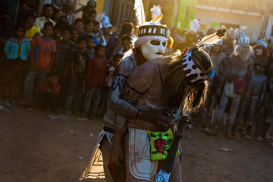 Holy Week Semana Santa Ritual Of Cora Indians In Mexico -9461