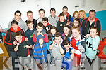 On the ropes: Members of the Sliabh Luachra boxing club, Castleisland who hosted the Co Kerry boxing Championships last Saturday afternoon at their venue in the town.