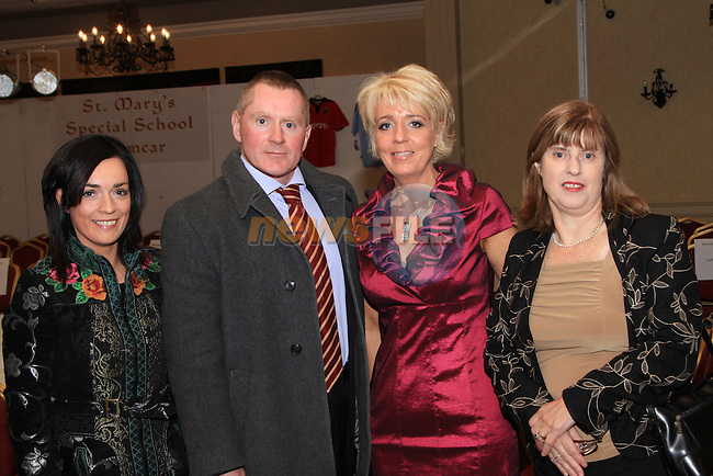 (Shane Personal Event).Paula Toale, Kevin Toale (School Principle), Geraldine Conway and Audrey Arthur (of St. John of Gods) at the event..Picture: Shane Maguire / www.newsfile.ie.