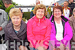 Josephine O'Connell (Abbeydorney) Kate Reidy (Tralee) and Maureen Silles (Lixnaw) pictured at Ballyheigue Pattern day on Sunday.