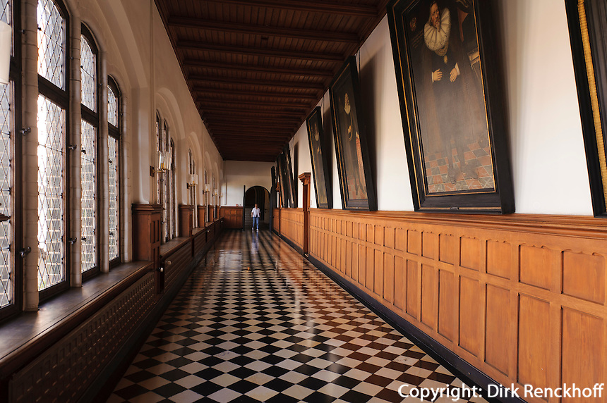 Rathaus (13.-16. Jh.) in Lübeck, Schleswig-Holstein, Deutschland