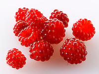 Organic Wineberry [Rubus phoenicolasius] - Japanese fruit