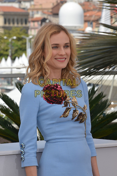 Diane Kruger attends the 'Maryland' / 'Disorder' photocall during the 68th annual Cannes Film Festival on May 16, 2015 in Cannes, France.<br /> CAP/PL<br /> &copy;Phil Loftus/Capital Pictures