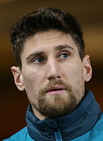 Federico Fernandez of Swansea City arrives ahead of the Premier League match between Swansea City and Liverpool at the Liberty Stadium, Swansea, Wales on 22 January 2018. Photo by Mark Hawkins / PRiME Media Images.