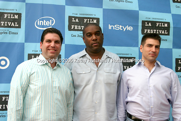 """Filmmakers.""""The Lather Effect"""" Premiere.Mann's Festival Theater.Westwood, CA.June 26, 2006.©2006 Kathy Hutchins / Hutchins Photo...."""