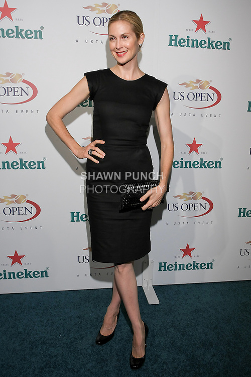 Kelly Rutherford arrives at the US Open Player Party at The Empire Hotel, August 27, 2010.