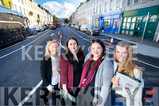 Pictured at the Tralee Town Centre Traders meeting at The Grand Hotel, Tralee, on Tuesday evening last, which included the launch of the Town Centre Marketing Team, l-r: Sandra Rusk, Celine Moloney, Edel Kelly and Heather O'Sullivan. Missing from photograph is Helen Griffin (SuperValu).