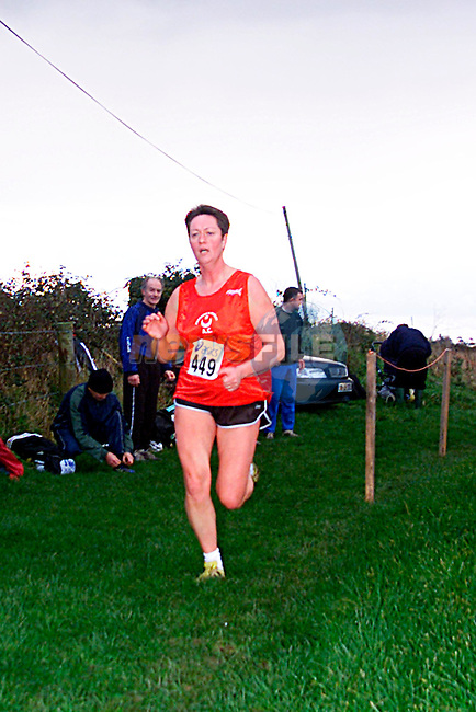 Eilish Haak at the Louth Cross Country Championships in Termonfeckin,..Pic Tony Campbell/Newsfile