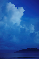 early morning storm, clouds building, Tamarindo Costa Rica, Pacific Ocean