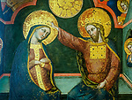 Icon detail, Academy Gallery, Venice, Italy