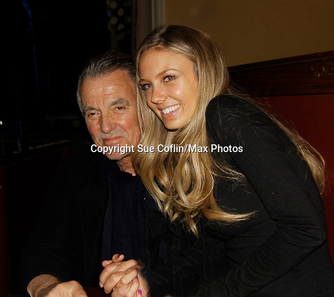 Eric Braeden & Melissa Ordway - The Young and The Restless - Genoa City Live celebrating over 40 years with on February 27. 2016 at The Lyric Opera House, Baltimore, Maryland on stage with questions and answers followed with autographs and photos in the theater.  (Photo by Sue Coflin/Max Photos)