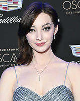 06 February 2020 - Los Angeles - Emma Dumont. Cadillac Celebrates The 92nd Annual Academy Awards held at Chateau Marmont. Photo Credit: Birdie Thompson/AdMedia