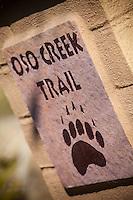 Oso Creek Trail Marker Mission Viejo