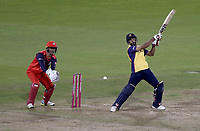 Ravi Bopara of Essex in batting action during Lancashire Lightning vs Essex Eagles, Vitality Blast T20 Cricket at the Emirates Riverside on 4th September 2019