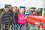 TRACTOR: Getting some tips of how the tractor ran on Sunday at the Abbeydorney Vintage Rally, L-r: Mossie,Timmy,Aisling and Roisín Brosnan (Gneevegulla).