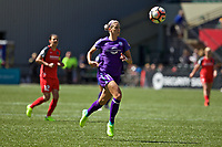Portland, OR - Saturday April 15, 2017: Alanna Kennedy during a regular season National Women's Soccer League (NWSL) match between the Portland Thorns FC and the Orlando Pride at Providence Park.