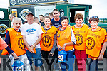 Anne Graham, George Finn, Orla Finn, David Herlihy, Mary Evans, Eileen Galvin and Josie Finn volunteers for Shane Finn on his 23rd Marathon at O'Shea's, Blennerville, Tralee on Friday afternoon last.