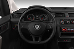 Car pictures of steering wheel view of a 2019 Volkswagen Caddy Van Base 4 Door Car van