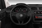 Car pictures of steering wheel view of a 2019 Volkswagen Caddy Van Base 4 Door Car van