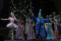 Members of the Hungarian National Ballet Company perform in The Nutkracker during the christmas holiday performance of the Hungarian National Ballet Company in in Budapest, Hungary on December 22, 2006. ATTILA VOLGYI