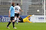 Sandhausen 05.12.2009, 3. Liga SV Sandhausen - FC Ingolstadt 04, Elfmeter f&uuml;r Sandhausens Denis Bindnagel zum 1:0<br /> <br /> Foto &copy; Rhein-Neckar-Picture *** Foto ist honorarpflichtig! *** Auf Anfrage in h&ouml;herer Qualit&auml;t/Aufl&ouml;sung. Ver&ouml;ffentlichung ausschliesslich f&uuml;r journalistisch-publizistische Zwecke. Belegexemplar erbeten.
