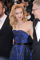 """Sarah Gadon attending the """"Cosmopolis"""" Premiere during the 65th annual International Cannes Film Festival in Cannes, France, 25.05.2012...Credit: Timm/face to face /MediaPunch Inc. ***FOR USA ONLY***"""