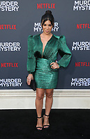 LOS ANGELES, CA - JUNE 10: Chrissie Fit, at the Los Angeles Premiere Screening of Murder Mystery at Regency Village Theatre in Los Angeles, California on June 10, 2019. <br /> CAP/MPIFS<br /> ©MPIFS/Capital Pictures