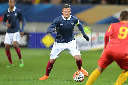 28.03.2016. Stade LeMans,  Le Mans, France, U-21 2017 Euros qualification. France versus Macedonia.   CORENTIN TOLISSO