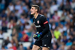 Goalkeeper Kepa Arrizabalaga Revuelta of Athletic Club de Bilbao in action during the La Liga 2017-18 match between Real Madrid and Athletic Club Bilbao at Estadio Santiago Bernabeu on April 18 2018 in Madrid, Spain. Photo by Diego Souto / Power Sport Images