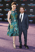 19 April 2017 - Hollywood, California - Clare Grant, Seth Green. Premiere Of Disney And Marvel's &quot;Guardians Of The Galaxy Vol. 2&quot; held at the Dolby Theatre. <br /> CAP/ADM<br /> &copy;ADM/Capital Pictures
