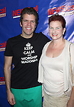 Perez Hilton & his mom Teresita attending the Opening Night Performance of Perez Hilton in 'NEWSical The Musical' at the Kirk Theatre  in New York City on September 17, 2012.