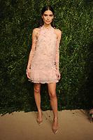 NEW YORK, NY - NOVEMBER 6: Sara Sampaio at the 14th Annual CFDA Vogue Fashion Fund Gala at Weylin in Brooklyn, New York City on November 6, 2017. <br /> CAP/MPI/JP<br /> &copy;JP/MPI/Capital Pictures