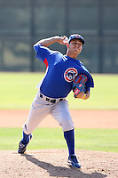 Steven Grife, Chicago Cubs 2010 minor league spring training..Photo by:  Bill Mitchell/Four Seam Images.